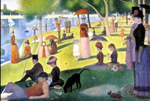 """Art - Pointilism / """"Some say they see poetry in my paintings; I see only science"""" Georges Seurat"""