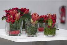 WEIHNACHTSDEKORATION / BROICH CATERING & LOCATIONS schmückt auf Ihrer Weihnachtsfeier oder Ihrem weihnachtlichen Event die Tische mit passendem Blumenschmuck.