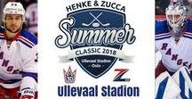 Henke & Zucca Summer Classic 2018 Ullevaal Stadion, Oslo, Norway / Icehockey, ice, icerink, Mats Zuccarello,