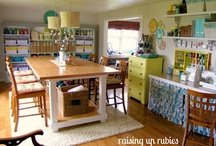Craft Room-someday / Ideas and DIY projects for a craft room or space  / by EmmyMom