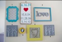 DIY/Crafts- For the Walls / DIY and Crafts that are or can be wall decor / by EmmyMom