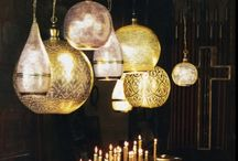 """INTERIORS ♣ LIGHTS / 2 Corinthians 4:6 For God, who said, """"Let light shine out of darkness,"""" made his light shine in our hearts to give us the light of the knowledge of the glory of God in the face of Christ. / by Monica Levy Rowland"""