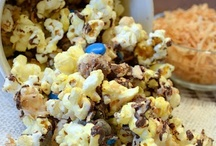 popcorn and snack mixes / by Laurie Hinman