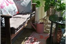 Garden / Garden, balcony, puutarha, parveke