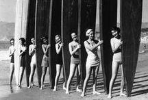 SurfGirl  | BRANDING / Identity Plan with a retro twist / by Studio Marbel