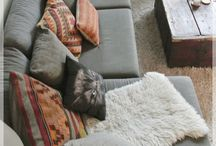 Living continues / Living room, olohuone