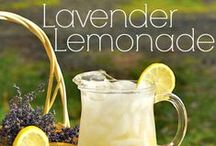 Recipes: hot summer / It's full on summer and very hot outside! Here is a collection of all the cooling lemonade or ice tea recipes and some occasional snacks that are perfect for a hot summer's day.