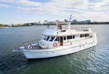 M.V Silver Spirit / M.V. Silver Spirt is a luxury 60ft charter boat operating in Sydney harbour.