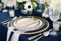 Table settings / Creating a meal to remember starts with the table decorations.