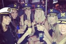 Hens party on a boat! / Bring the girls together and join Spirit Fleet for your Hens party. Will be a party to remember...