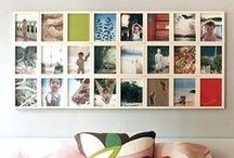On these walls I hang wonderful pictures