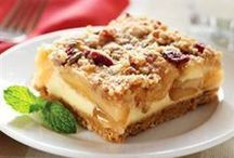 Apple-icious Desserts / In search of a delicious apple dessert? Take a look at these tasty treats.  / by Eagle Brand