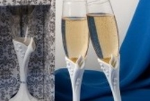 Toasting Flutes & Glasses For The Wedding Reception