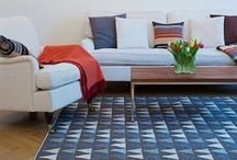 Rugs, pillows  & placemat prints / by Elizabeth Olwen