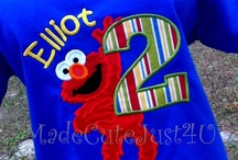 Birthday: Elmo/Sesame Street Party!! / by Michelle Cook