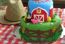 Birthday: Barnyard/TractorParty!!!  / by Michelle Cook