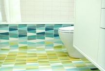 Splish Splash / Stylish bathroom ideas worth sharing.  / by Liz Gray