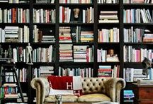 home libraries / Home libraries with great design. Books everywhere! / by hollywood housewife