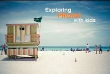 Miami with Kids / Where to go, where to stay, and where to eat in Miami with kids. Read kid-friendly reviews of fun family activities at Trekaroo.com #Trekarooing
