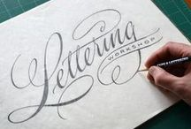 1000 Words / Greetings, salutations and lettering