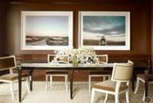 dining room design / Beautiful dining rooms, with some unusual or dramatic element.  / by hollywood housewife