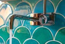 beautiful bathrooms / Beautiful bathroom design, especially gorgeous tile. / by hollywood housewife