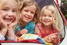 Camping with Kids / For Camping Week 2014, we're excited to inspire families to set out on a camping adventure to some of the best regions to pitch their tents in the US and Canada, plus how and when to book. #FamilyTravel #Trekarooing