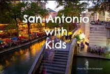San Antonio, Texas with Kids / The San Antonio, Texas #FamilyTravel board is dedicated to the best family vacation destinations, attractions, activities, and hotels that #SanAntonio has to offer. Explore kid-friendly San Antonio, Texas! #FamilyTravel #Trekarooing  / by Trekaroo Family Travel