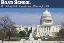 US Government History : Road School Family Travel / Field trip ideas, books, videos, and fun projects that families can enjoy and do together to learn about US Government History.  Perfect for getting up to speed before you head to Pennsylvania, Virginia, and Washington DC.