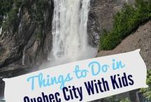 Quebec with Kids / This board is dedicated to the best of kid-friendly Québec.  Read family-friendly activities and hotels in Montreal and Quebec City, as well as travel tips and expert advise for visiting Quebec.