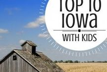Iowa with Kids / The Iowa Family Travel board is dedicated to the best family vacation destinations, attractions, activities, and hotels in Iowa. Explore Iowa with kids! #FamilyTravel #Trekarooing