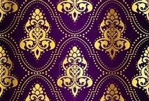 Textiles and Patterns / Fashion, objects, pattern, textiles and color to banish the beige of life!