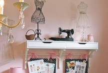 craft space / by Cherrie McCartney