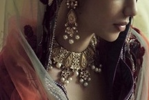 Desi inspiration / Images from my heritage that inspire my jewelry-making. History, fashion, textiles, design, architecture, and color.