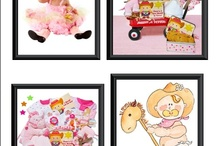 Personalized Baby Girl Gifts / Personalized gifts for baby girl.