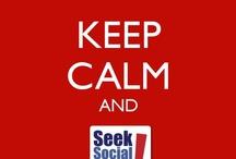 Seek Loves Social Media! / Tips for using social media to grow your business.