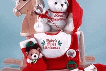 Baby's 1st Christmas / Holidays are especially fun celebrating a baby's 1st Christmas!  Inspiring ideas for gifts and more!   / by Stork Baby Gift Baskets