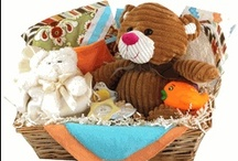 Unique Baby Gift Baskets / Baby Gift Basket Company specializing in Baby Gifts!  Find unique and personalized new baby gifts to welcome newborn babies and more! http://www.storkbabygiftbaskets.com/baby-gift-baskets.html / by Stork Baby Gift Baskets