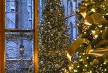Artificial Christmas Trees / Why hassle with a living tree when you can purchase an artificial tree that will last for years? Check out some of these unique Christmas tree options.  / by 1000Bulbs.com
