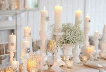"Christmas Wedding Ideas / Have yourself a ""marry"" little Christmas! / by 1000Bulbs.com"