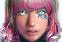 B's Illustration/Comic Selections