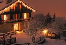 Winter Wonderland / Turn your home into a Winter Wonderland with these fantastic lighting ideas!
