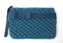Bags knitting and crochet