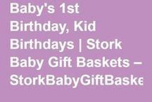 Kids Gifts / Send your favorite child a gift today!  Find fun kids gifts and gift baskets for birthdays, holidays and more!