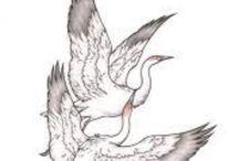 heron tattoo inspiration / by Stina Gans