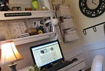 Craft Rooms / Scrap booking and stamping rooms / by Cappy Larsen Walzel