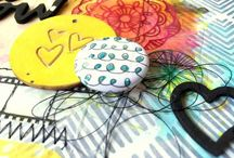 """Flair Inspiration! / This is a board to showcase crafters who rock """"a flair for buttons"""" flair!!!! Welcome!"""