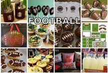 FOOTBALL GOODIES / by Megan Marshall - InThisWonderfulLife.com
