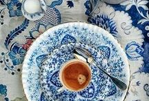 Tablescapes:  / Settings; napkin ideas; buffet syles; china patterns, etc.