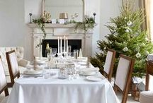 Christmas Interiors / It's the season to be jolly - It's Christmas time! Here are some trendy Xmas interior style ideas for you to use as inspiration.